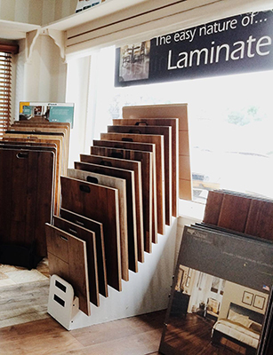 Visit Laurie's in Troy to view a huge selection of laminate flooring - a myriad of styles, colors and selection.